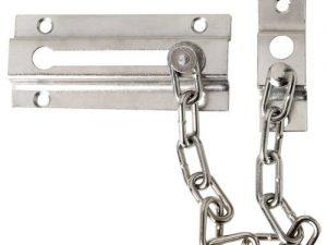 🥇12 Mejores cadena de seguridad para puertas 9