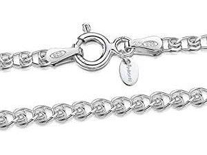 🥇12 Mejores Cadenas de plata para hombre ✅ 3