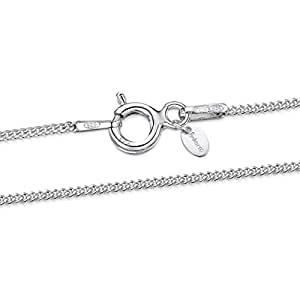 Cadenas finas de plata para mujer