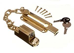 Cadenas de seguridad para puerta con llave