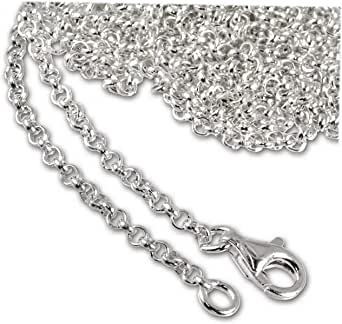 Cadenas de plata delgadas