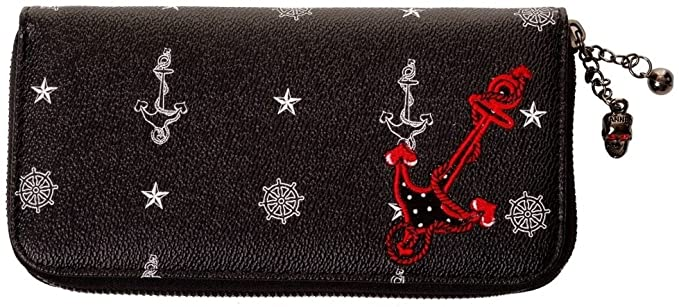 Cartera rockabilly