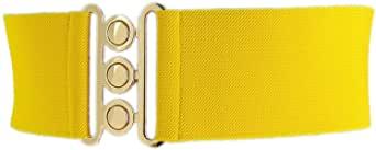 Cinturón amarillo mujer